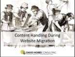 Content Handling During Website Migration