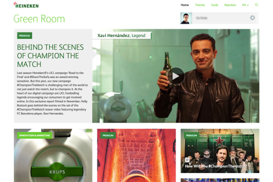 Heineken Intranet