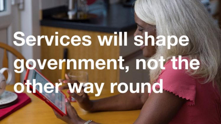 services will shape the government